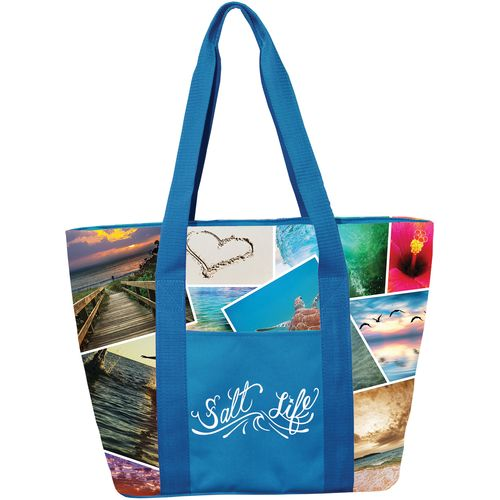 Salt Life Collage 16-Can Cooler Tote