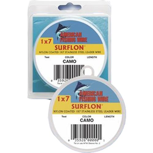 American Fishing Wire Surflon 20 lbs - 30 ft Leader Wire