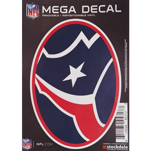 "Stockdale Houston Texans 5"" x 7"" Repositionable Decal"