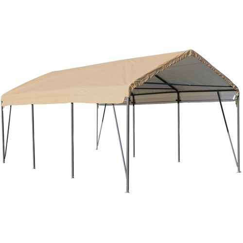 ShelterLogic Carport-in-a-Box® 12' x 20' Peak Style Carport - view number 1