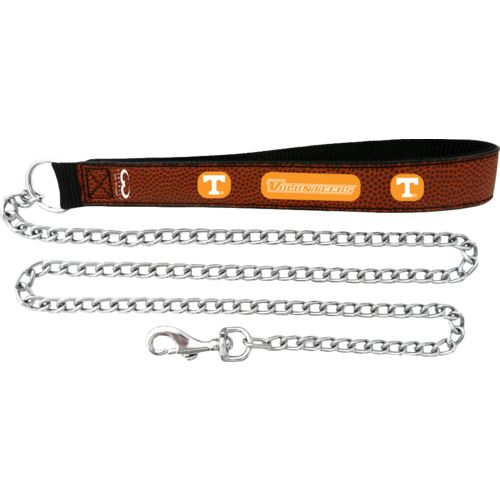 GameWear University of Tennessee Football Leather Chain Leash