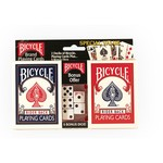 Bicycle® Playing Cards 2-Pack with Dice