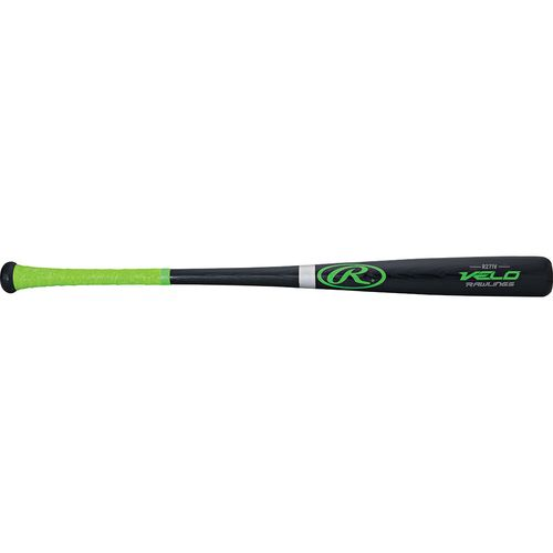 Rawlings® Adults' Velo Ash Wood High School/Collegiate Baseball Bat -3