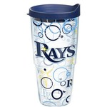 Tervis Tampa Bay Rays Bubble Up 24 oz. Tumbler with Lid