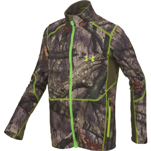 Under Armour™ Kids' UA Scent Control Armour® Full Zip Camo Fleece