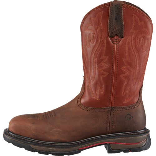 Wolverine Men's Javelina Western Steel-Toe EH Wellington Work