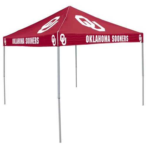 Logo University of Oklahoma Straight-Leg 9 ft x 9 ft Color Tent