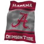 Logo University of Alabama UltraSoft Blanket