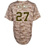 Majestic Men's San Diego Padres Matt Kemp #27 Cool Base® Jersey