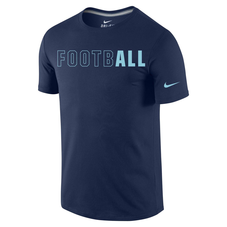 nike mens all football tshirt academy