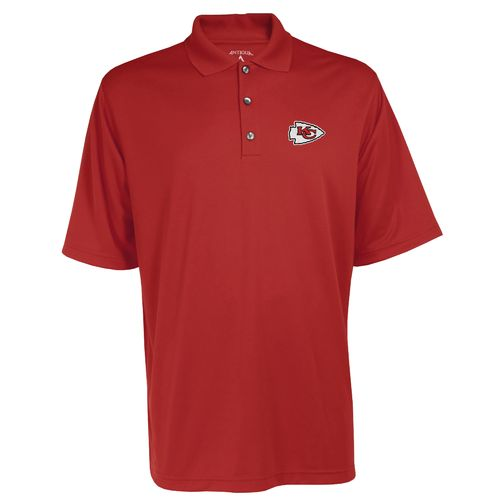 Antigua Men's Kansas City Chiefs Exceed Polo Shirt
