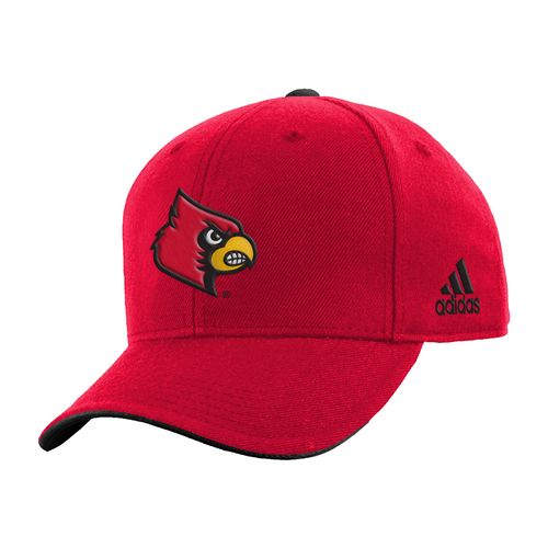 adidas™ Boys' University of Louisville Basic Structured Adjustable Cap