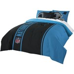 The Northwest Company Carolina Panthers Full-Size Comforter and Sham Set