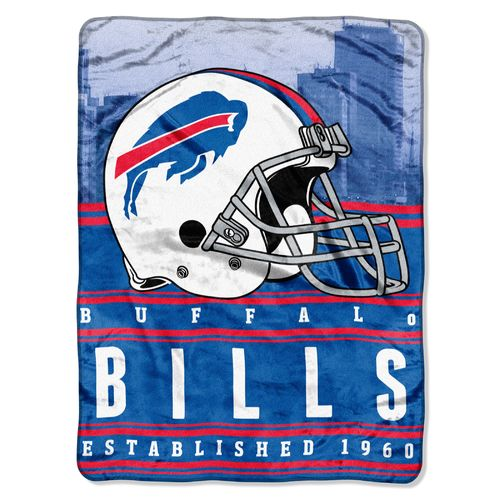 The Northwest Company Buffalo Bills Stacked Silk Touch Throw