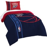 The Northwest Company Oklahoma City Thunder Twin Comforter and Sham Set