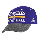 adidas Boys' Los Angeles Lakers Practice Graphic Flex Cap