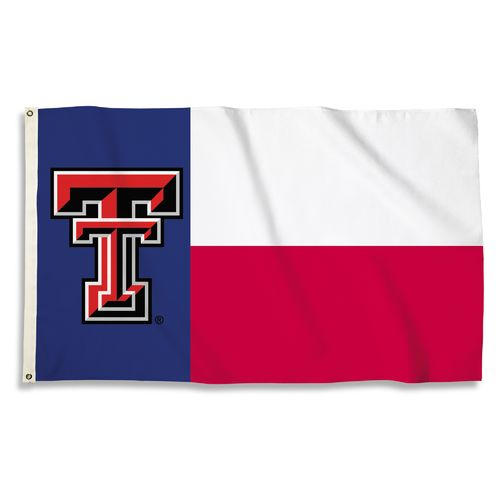 BSI Texas Tech University Texas Motif Flag