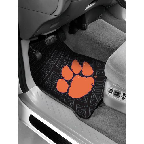 The Northwest Company Clemson University Car Floor Mats 2-Pack - view number 1