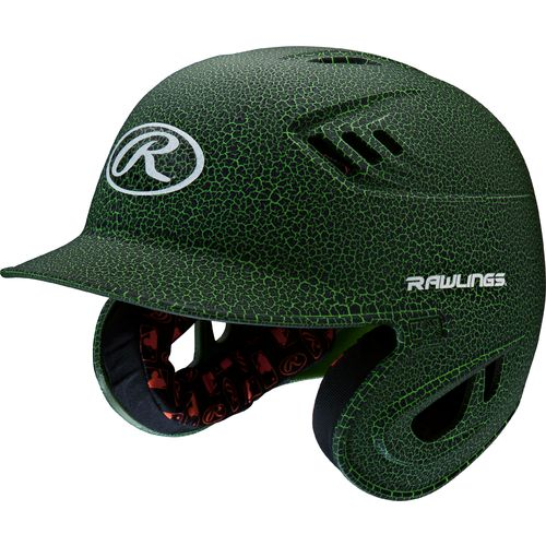 Rawlings Juniors' R16 Raptor Crackle Finish Batting Helmet