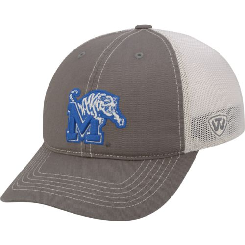 Top of the World Adults' University of Memphis Putty Cap
