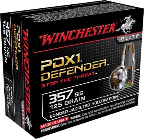 Winchester Elite PDX1 Defender .357 Sig Sauer 125-Grain