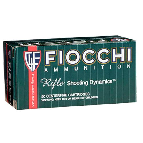 Fiocchi Rifle Shooting Dynamics .308 Win./7.62 NATO 150-Grain Pointed Soft Tip Centerfire Rifle Ammu