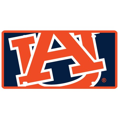 Display product reviews for Stockdale Auburn University Mega License Plate