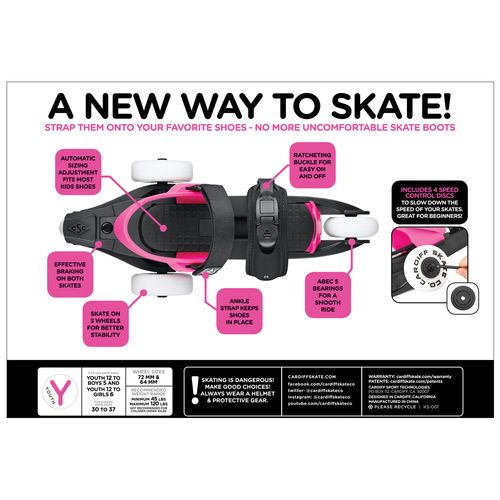 Cardiff Skate Co. Kids' Cruiser Series Skates - view number 3