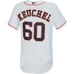 Majestic Men's Houston Astros Dallas Keuchel #60 Replica Jersey