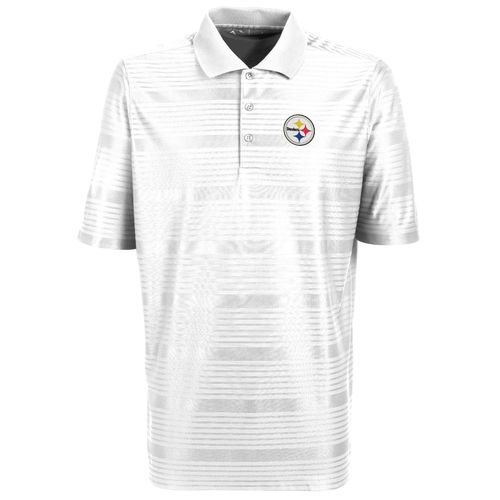 Antigua Men's Pittsburgh Steelers Illusion Polo Shirt