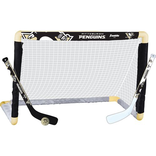 Franklin Pittsburgh Penguins Mini Hockey Goal Set