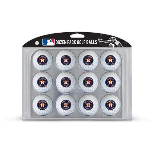 Team Golf Houston Astros Golf Balls 12-Pack