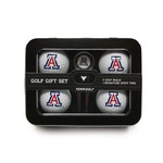 Team Golf University of Arizona 4-Ball Tin Gift Set