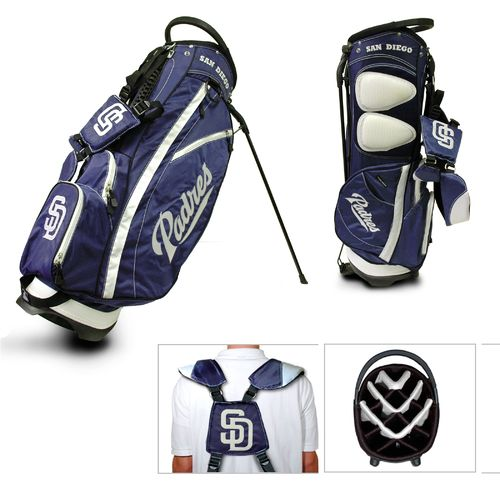 Team Golf San Diego Padres Fairway 14-Way Stand Golf Bag - view number 1