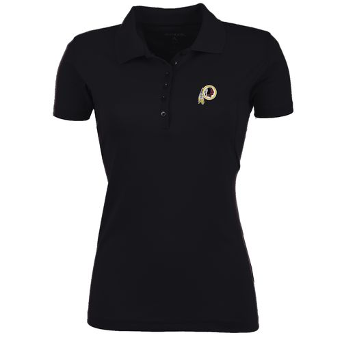 Antigua Women's Washington Redskins Pique Xtra-Lite Polo Shirt