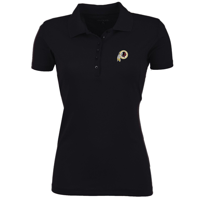 Antigua Women's Washington Redskins Pique Xtra-Lite Polo Shirt
