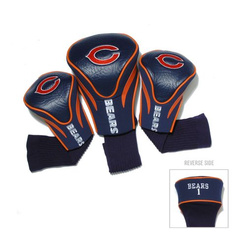 Team Golf Chicago Bears Contour Sock Head Covers 3-Pack