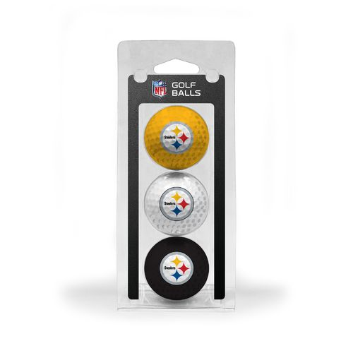 Team Golf Pittsburgh Steelers Golf Balls 3-Pack - view number 1