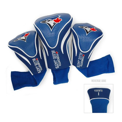 Team Golf Toronto Blue Jays Contour Sock Head Covers 3-Pack