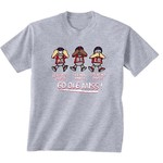 New World Graphics Infants' University of Mississippi No Evil T-shirt