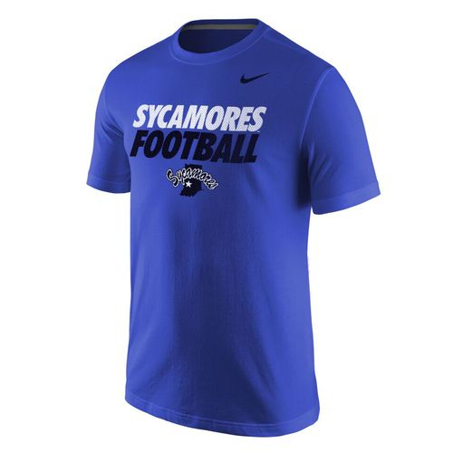 Nike Men's Indiana State University Cotton Classics Core Short Sleeve T-shirt - view number 1