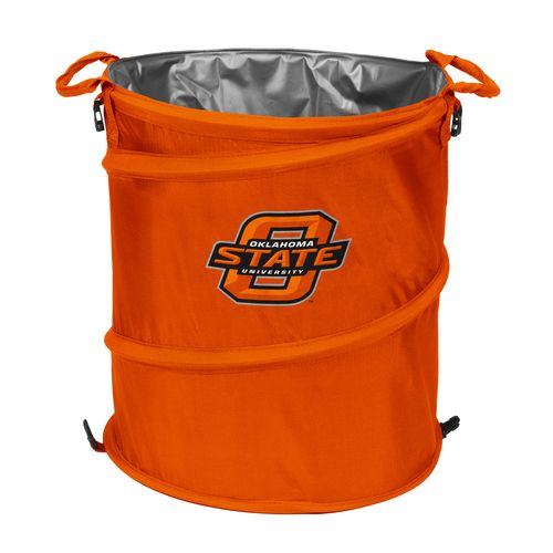 Logo™ Oklahoma State University Collapsible 3-in-1 Cooler/Hamper/Wastebasket