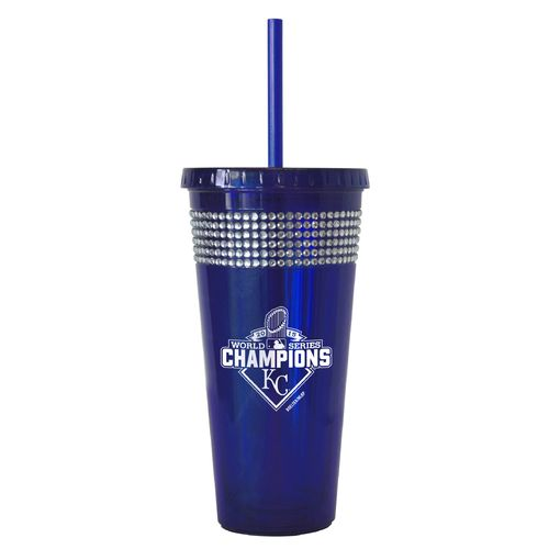 Display product reviews for Boelter Kansas City Royals 2015 World Series Champions 22oz Bling Straw Tumbler