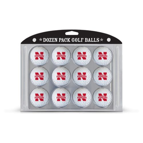 Team Golf University of Nebraska-Lincoln Golf Balls 12-Pack