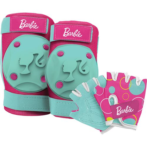 Bell Girls' Barbie Pads and Gloves Set