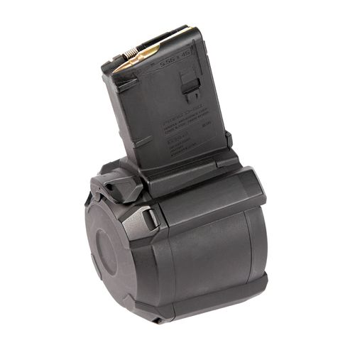 Display product reviews for Magpul P-MAG D-60 5.56 x 45mm NATO/.223 Remington 60-Round Drum Magazine