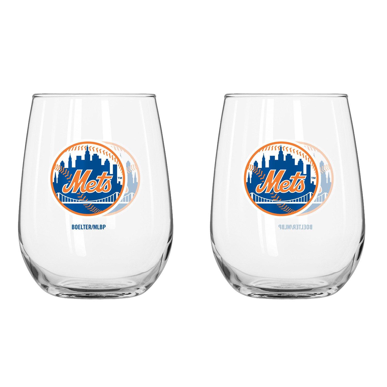 Boelter Brands New York Mets 16 oz. Curved