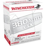 Winchester .380 Automatic 95-Grain FMJ Centerfire Pistol Ammunition - view number 1