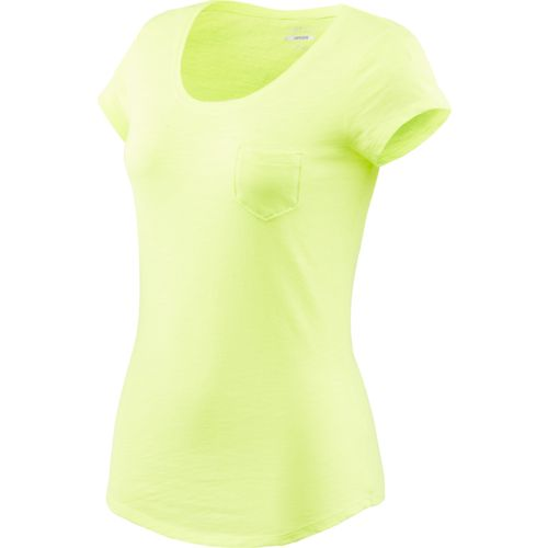 BCG™ Juniors' Basic Short Sleeve Solid Scoop Neck