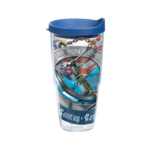 Tervis Navy Anchor 24 oz. Tumbler